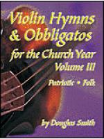 Violin Hymns and Obbligatos, Vol. 3 Sheet Music