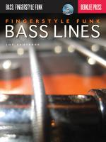 Fingerstyle Funk Bass Lines Sheet Music