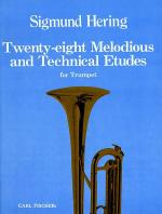 Twenty-eight Melodious and Technical Etudes Sheet Music
