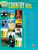 2008 Greatest Country Hits Sheet Music
