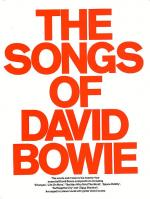 The Songs Of David Bowie Sheet Music