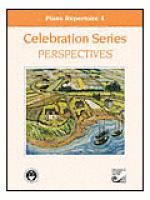 Celebration Series Perspectives: Piano Repertoire 1 Sheet Music