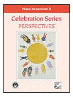 Celebration Series Perspectives: Piano Repertoire 2 Sheet Music