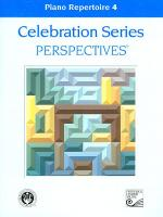 Celebration Series Perspectives: Piano Repertoire 4 Sheet Music