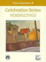 Celebration Series Perspectives: Piano Repertoire 9 Sheet Music