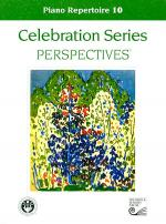 Celebration Series Perspectives: Piano Repertoire 10 Sheet Music