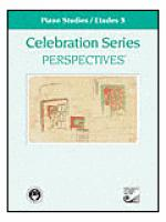 Celebration Series Perspectives: Piano Studies / Etudes 5 Sheet Music