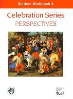 Celebration Series Perspectives: Student Workbook 2 Sheet Music
