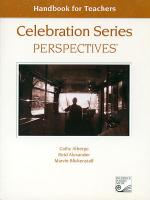Celebration Series Perspectives: Handbook for Teachers Sheet Music