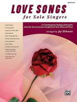Love Songs for Solo Singers Sheet Music