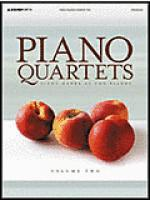 Piano Quartets - Volume 2 Sheet Music