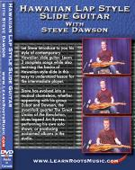 Hawaiian Lap Style Slide Guitar with Steve Dawson DVD Sheet Music