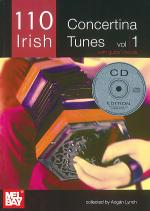 110 Irish Concertina Tunes, Volume 1 Book/CD Set Sheet Music