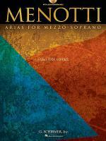 Menotti Arias for Mezzo-Soprano Sheet Music