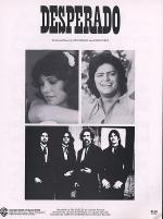 Desperado Sheet Music