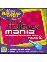 Disney's Karaoke Series - Disney Mania, Volume 2 (Karaoke CDG) Sheet Music