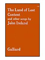 The Land of Lost Content (A Shropshire Lad) and other Songs Sheet Music