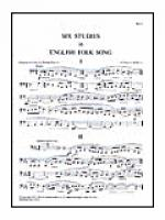 Six Studies in English Folk Song for Tuba Sheet Music