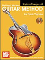 Modern Guitar Method Rhythm Changes, #1 Book/CD Set Sheet Music