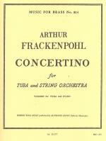 Concertino/Tuba and Strings Sheet Music