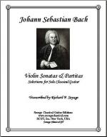 Selections from Bach's Violin Sonatas & Partitas Sheet Music
