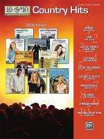 10 for 10 Sheet Music Country Hits 2008 Edition Sheet Music