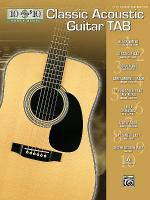 10 for 10 Classic Acoustic Guitar Tab Sheet Music