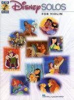 Disney Solos (Violin) Sheet Music