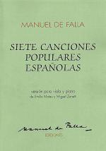 7 Canciones Populares Espanolas Sheet Music