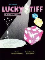 Lucky Stiff - A Musical Comedy Sheet Music