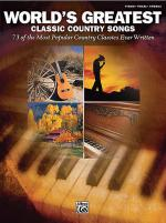 World's Greatest Classic Country Songs Sheet Music