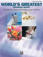 World's Greatest Wedding Music Sheet Music