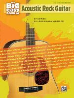 The Big Easy Book of Acoustic Guitar Sheet Music