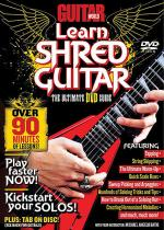 Guitar World -- Learn Shred Guitar Sheet Music