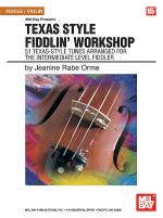 Texas Style Fiddlin' Workshop Book/CD Set Sheet Music