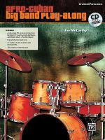 Afro-Cuban Big Band Play-Along for Drumset/Percussion Sheet Music