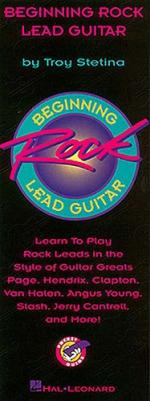 Beginning Rock Lead Guitar - Pocket Guide Sheet Music