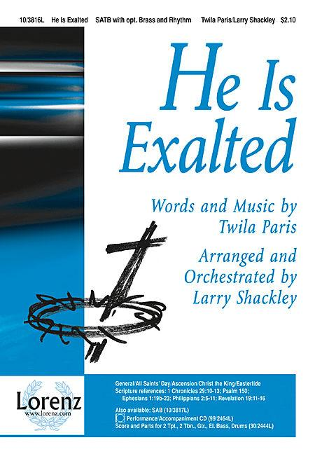 He Is Exalted Sheet Music