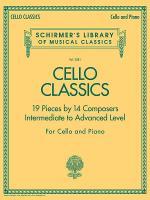 Cello Classics Sheet Music