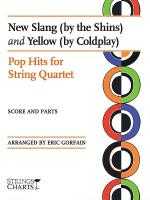New Slang (by The Shins) and Yellow (by Coldplay) Sheet Music