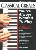 Classical Greats You've Always Wanted to Play Sheet Music