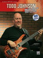 Todd Johnson Walking Bass Line Module System, Volume 2 Sheet Music