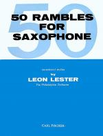Fifty Rambles for Saxophone Sheet Music