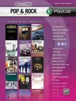 All-Time Pop & Rock Hits Sheet Music Playlist Sheet Music