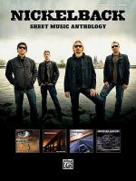 Nickelback -- Sheet Music Anthology Sheet Music
