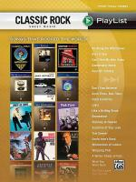 Classic Rock Sheet Music Playlist Sheet Music