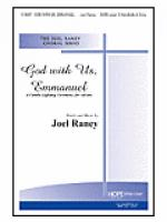 God with Us, Emmanuel: A Candle Lighting Ceremony For Advent Sheet Music