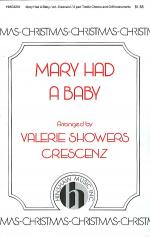 Mary Had a Baby Sheet Music