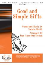Good and Simple Gifts Sheet Music