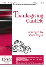 Thanksgiving Canticle Sheet Music